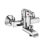 ESSESS by Asian Paints Silver Brass Single Lever Wall Mixer with Telephone Shower Arrangement Only