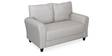Etios Two Seater Sofa in Grey Colour by @Home