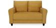 Etios Two Seater Sofa in Mustard Yellow Colour by @Home