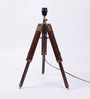 Ethnic Roots Brown Mango Wood Table Lamp Base