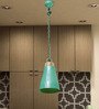Paramore Ceiling Lamp in Teal by Bohemiana