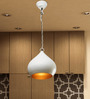 Rene Ceiling Lamp in White by Bohemiana