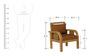 Europa Sofa Set in Natural Teak Finish by CasaTeak