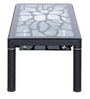 Euro Coffee Table in Black Colour by Royal Oak