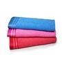 Eurospa Assorted 100% Cotton 12 x 20 Hand Towel - Set of 3