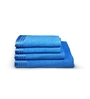 Eurospa Blue 100% Cotton Bath and Hand Towel - Set of 4