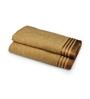 Eurospa Brown 100% Cotton 22 x 44 Bath Towel