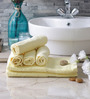 Eurospa Cotton Towel Sets Yellow (Set of 6)