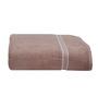 Eurospa Beige Cotton Bath Towel