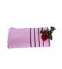 Eurospa Velour Pink Cotton Bath Towel