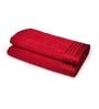 Eurospa Red 100% Cotton 22 x 44 Bath Towel