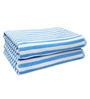 Eurospa Rover Aqua Blue Cotton Bath Towel - Set of 2