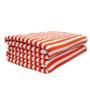 Eurospa Rover Orange Cotton Bath Towel - Set of 2