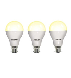 Eveready Yellow 3W LED Bulb - Set of 3