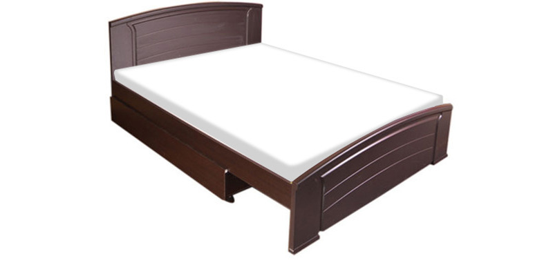 Evita Wenge Queen Size Bed by HomeTown