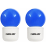 Eveready Blue 0.5W Deco LED Plug & Play - Set of 2