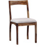 Everson Six Seater Dining Set in Provincial Teak Finish by Woodsworth