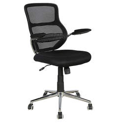 Exclusive Medium Back Chair with Mesh Back Support by Parin
