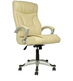 Executive High Back Chair in Beige Colour by Star India