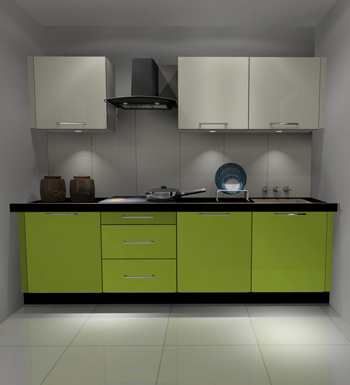 Modular Kitchen Designs Catalogue: Buy Express Modular Kitchen Cabinets In High Gloss Finish