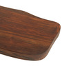 ExclusiveLane Dark Brown Sheesham Wood Cheese and Bread Board