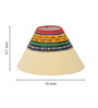 ExclusiveLane White Polyvinyl Table Lamp