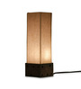 ExclusiveLane Cream Polyvinyl Table Lamp
