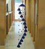 ExclusiveLane Blue Ceramic Melodious Sound Wind Chime