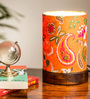 Exclusivelane Multicolour Polyvinyl Mini Paisley Table Lamp