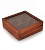 Exclusive Lane Wood Spice Box