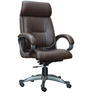 Executive Brown High Back Executive Chair by Adiko Systems