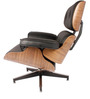 Executive Emperor Chair in Black Leatherette by FabChair