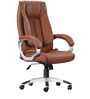 Executive High Back Office Chair in Brown Colour by Adiko Systems