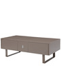 Extravagance Multifunctional Coffee Table with Storage in Brown Colour by Gravity