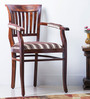 Eyre Arm Chair in Honey Oak Finish by Amberville