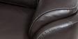 Falcon Three Seater Sofa in Dark Brown Colour by Star India