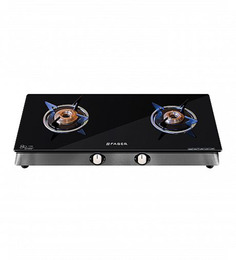 Faber Eco Crystal Glass Top 2-burner Cooktop (Model: 20 CT-AIHE)