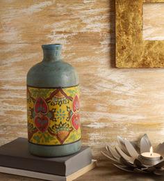 Fabuliv Multicolour Terracotta Vase