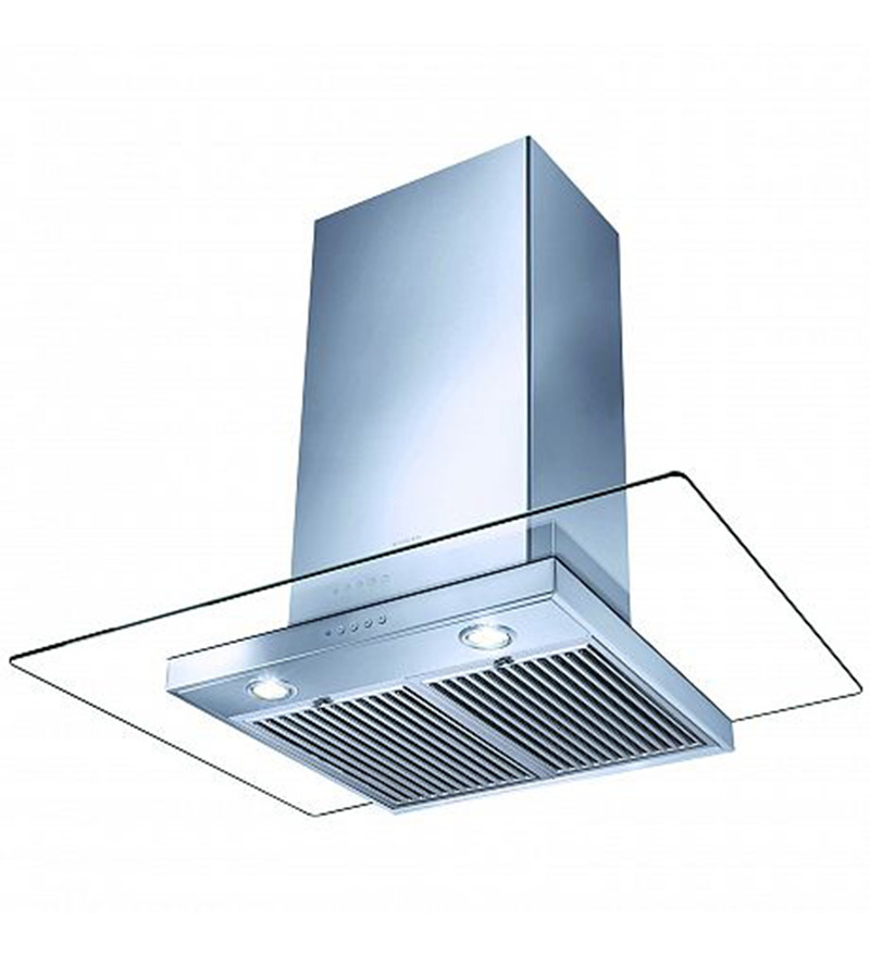 Faber Sil-k Series Glassy Blue Hood Chimney (Model: BKL-LTW90)  available at Pepperfry for Rs.21349