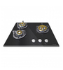 Faber Toughened Glass 3 Burner Glasstop Hob