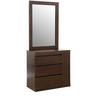 Fabian Dresser With Mirror in Wenge Finish by HomeTown