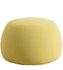 Fabio Medium Size Pouffe in Sunglow Colour by CasaCraft
