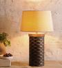Fabuliv Beige Jute Adelmo Table Lamp