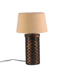 Fabuliv Beige Jute Adelmo Table Lamp