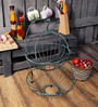 Fabuliv Blue Metal 2 Tier Distress Fruit Basket
