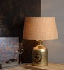 Fabuliv Abel Beige Cotton Table Lamp