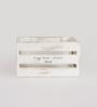 Fabuliv Mango Wood & Iron Distress White Crate Basket - Set of 2