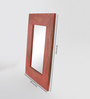 Fabuliv Red Mango Wood Nebulus Wall Mounted Mirror