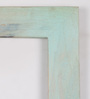 Fabuliv Turquois Mango Wood Framed Wall Shelf with 3 Slabs