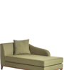 Fadam Lounger Sofa in olive green Colour by Madesos